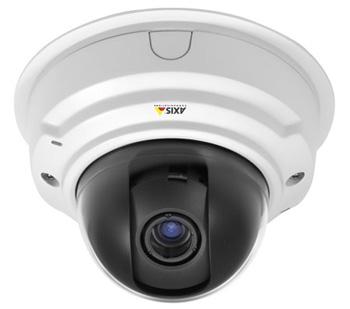 Сетевые охранные видеокамеры P3384-V/-VE с разрешением до 1280?960 пикс. при 25 к/с и WDR