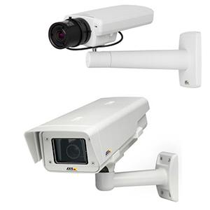 Охранные IP-камеры c HD разрешением при 25 к/с