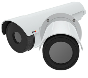 Наружный тепловизор AXIS с 4 вариантами оптики и видеоаналитикой